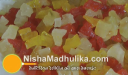 टूटी फ्रूटी - Tutty Fruiti Recipe - Indian Candied Fruit Cubes Recipe